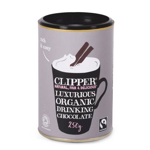 Clipper Organic Fairtrade Drinking Chocolate 250g by Clipper from GoodnessDirect