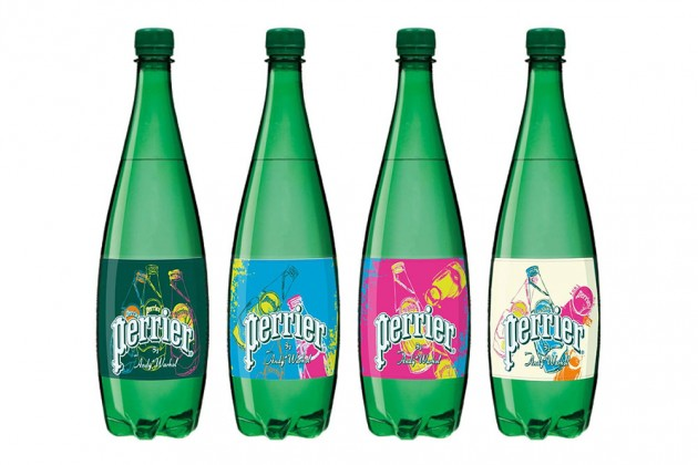 Perrier Introduces Limited-Edition Bottles Featuring the Art of Andy Warhol • Highsnobiety
