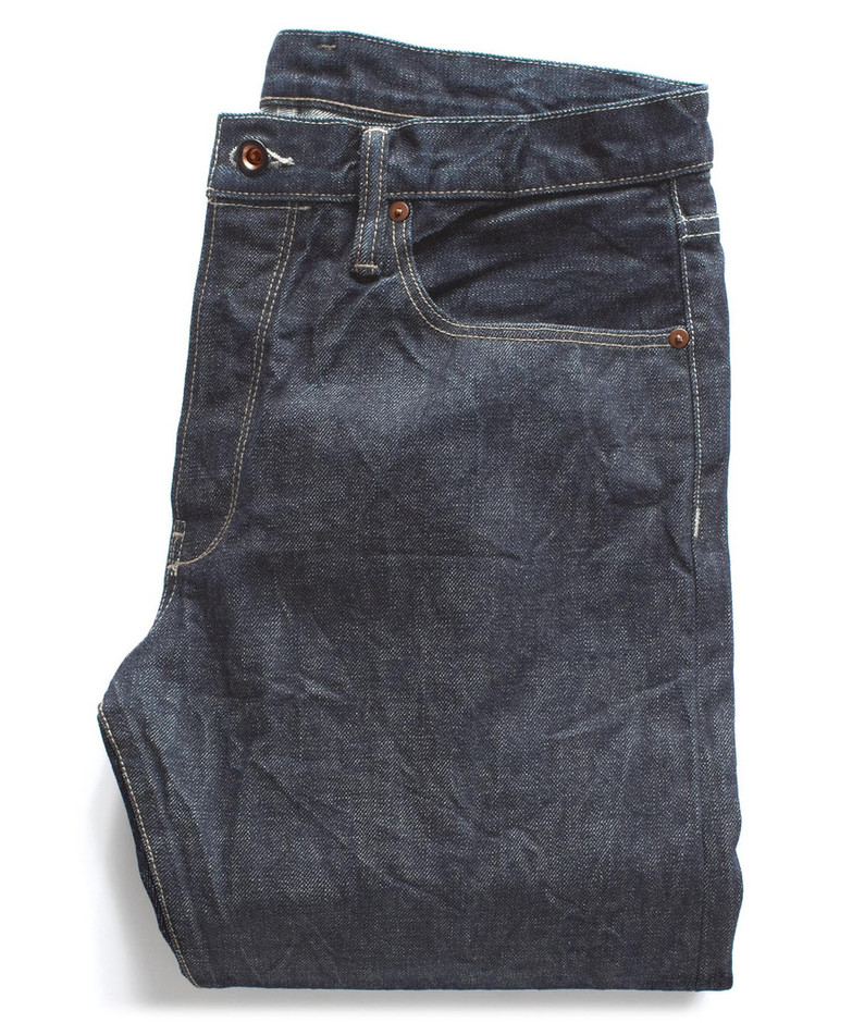 Blue Selvage Denim Jeans by Todd Snyder