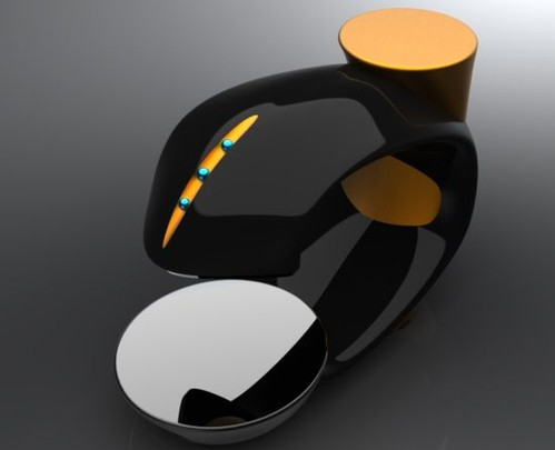 Gumgem Fun Forever: Coffee Maker Concept by Carlos Marquez - Kitchen Gadget