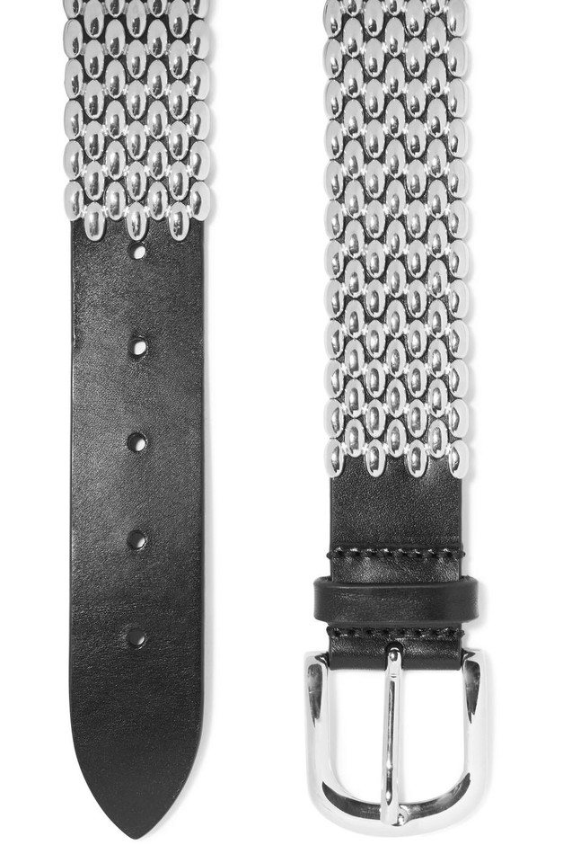 Isabel Marant | Faithful studded leather waist belt | NET-A-PORTER.COM