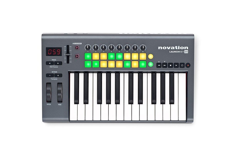 Novation/MIDI鍵盤/LaunchKey 25