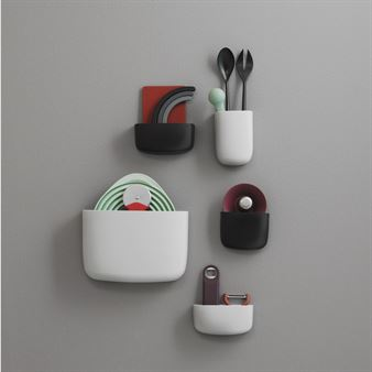 Pocket organizer white from Normann Copenhagen by Simon Legald