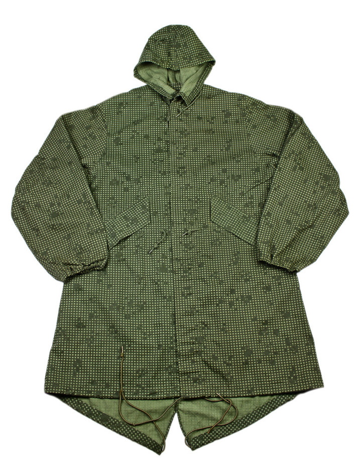Vintage Military Issue Desert Night Camouflage Fish Tail Parka Large | Vintage Mens Goods