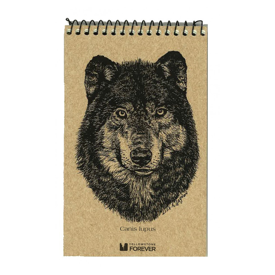 Wolf Explorer Notepad - Yellowstone Forever - Collectables