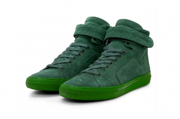 Pierre Hardy Suede Calf Sneaker | The Shoe Buff - Men's Contemporary Shoes and Footwear