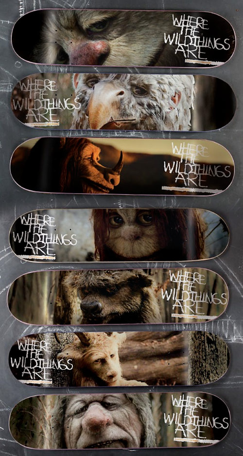Girl Skateboards: Where the Wild Things Are Board Series