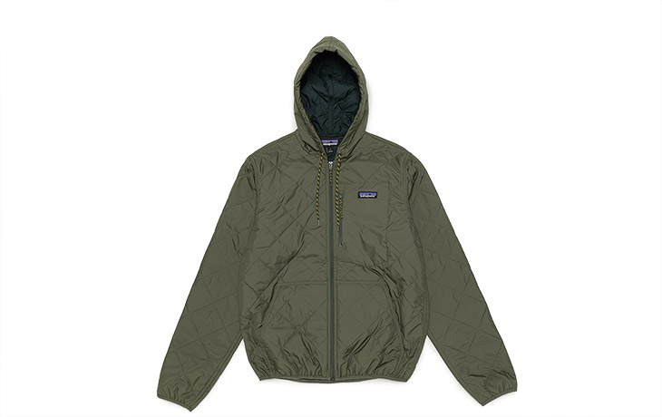 Patagonia M S Diamond Quilted Bomber Hoody Indg