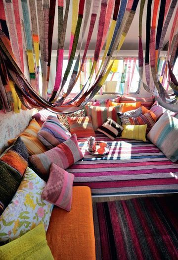 All about the Boho! / Colourful!