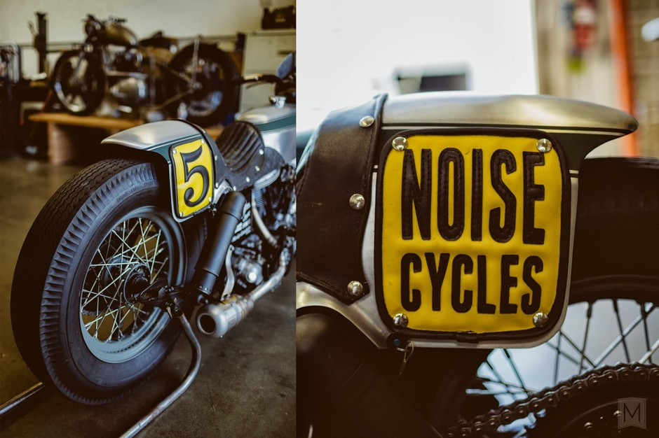 Moto-Mucci: DAILY INSPIRATION: Noise Cycle's Born Free 5 Harley Panhead