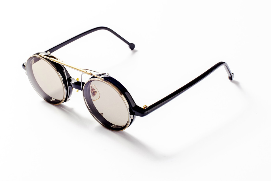 FLIP-UP FRONT (ROUND classic type)|ORIGINAL FRAMES COMBINATION|白山眼鏡店