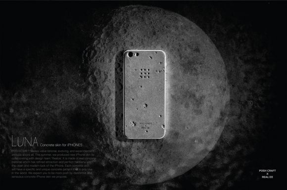 Luna iPhone 5 Skin by Posh-Projects x Realize by Gessato | Details Network
