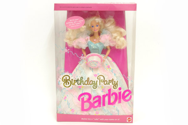 Birthday Party Barbie バースデーバービー - おもちゃ屋 KNot a TOY ノットアトイ Online Shop in 高円寺