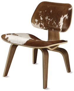 Herman Miller Select Eames® Cowhide Molded Plywood Lounge Chair - Gabriel Ross Canada