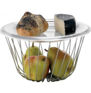 A Tempo, wire fruit basket - Alessi wire basket