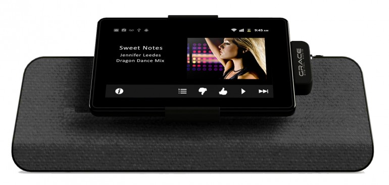 Grace Digital launches FireDock speaker dock for the Kindle Fire - Images