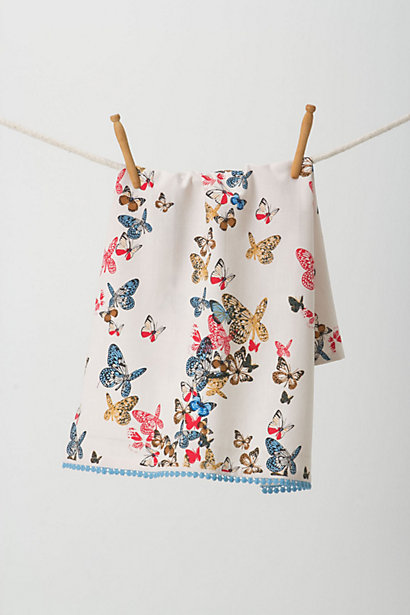 Winged Menagerie Dishtowel - Anthropologie.com