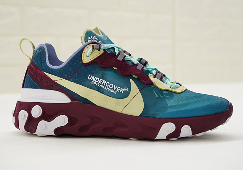 UNDERCOVER x Nike REACT Element 87 Colorways | THIRD LOOKS