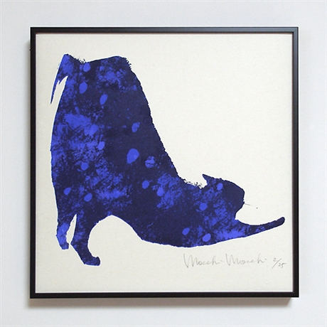 Indigo cat: Life in Art - IDEE SHOP Online