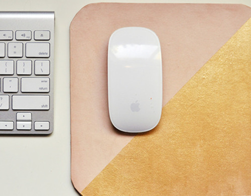 freshly picked: leather mouse pads | Design*Sponge