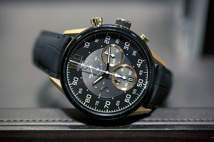 Introducing The TAG Heuer Carrera Mikrograph Avant Garde, In Black Titanium And Rose Gold (Live Pics & Pricing) — HODINKEE - Wristwatch News, Reviews, & Original Stories