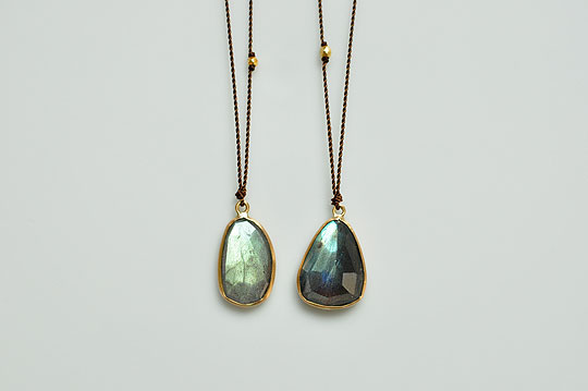 Enclosed Labradorite Necklace (Margaret Solow) - SOURCE objects
