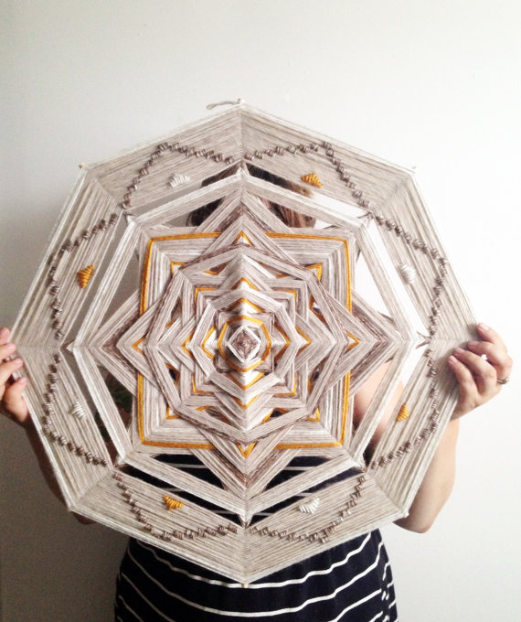 Handmade Ojo de Dios Wall Hanging Extra Large by Houseworking