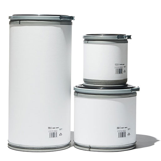 TFT Fibre drum 2529 wht | GENERAL VIEW