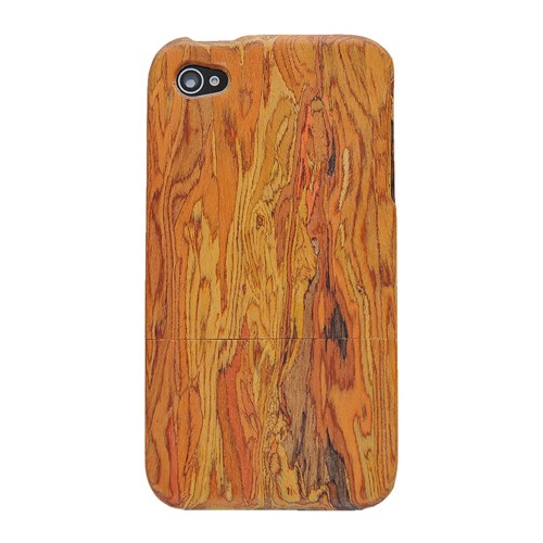 Rainbow wooden case for Iphone4/4s/5 | onfancy - Accessories on ArtFire
