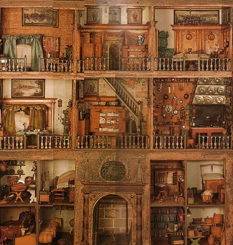 A Curious Work さんの Doll house ボードのピン   Pinterest