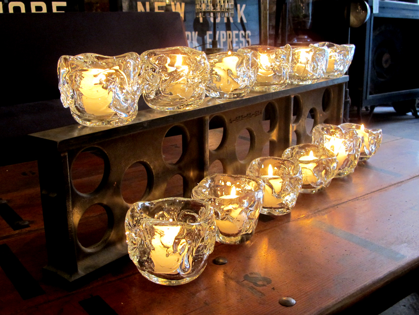 Hand Blown Glass Candle Holders | Strawser & Smith