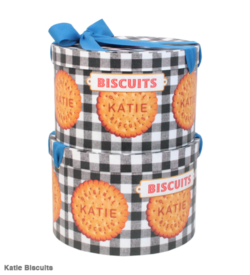 ACCESSORY - HAT BOX round - Katie Official Web Store