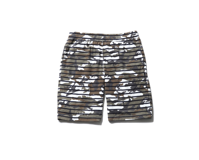 SOPHNET. | PRODUCT | OVER PRINT BORDER SHORTS