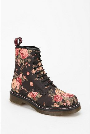 UrbanOutfitters.com > Dr. Martens Floral 1460 Lace-Up Boot