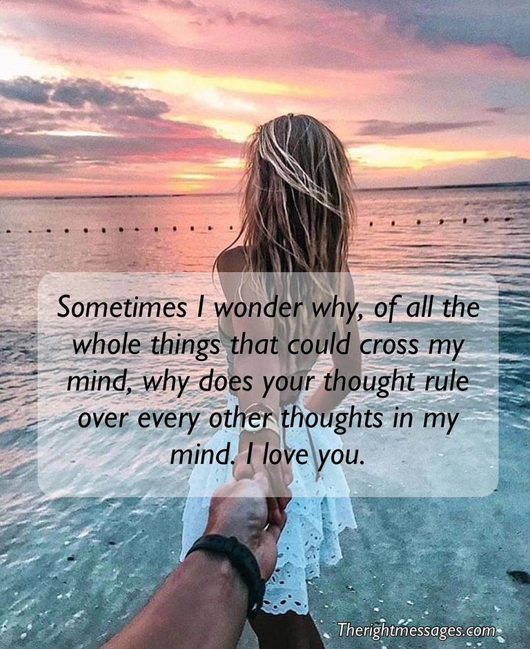 Thinking of You Quotes & Text Messages For Her - The Right Messages