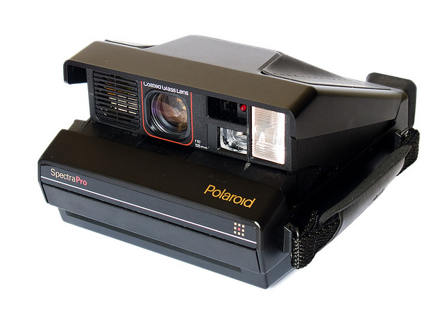 Polaroid Spectra Pro (three-quarter view) | Flickr - Photo Sharing!