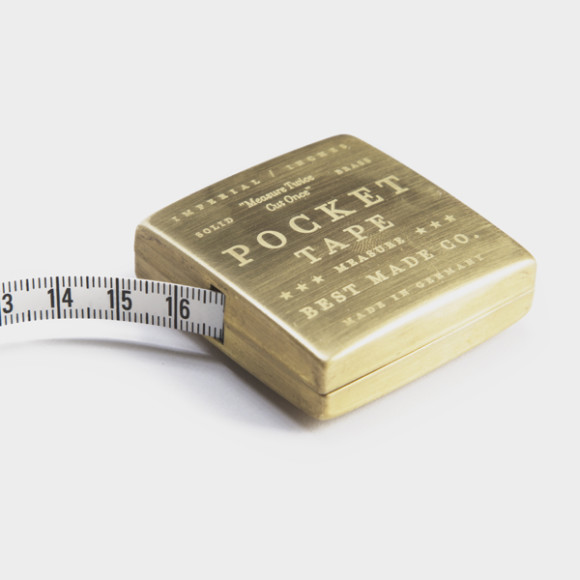Best Made Company — Solid Brass Pocket Tape