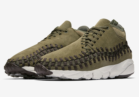 Air Footscape Woven Chukka - Cargo Khaki/Velvet Brown/Hyper Violet