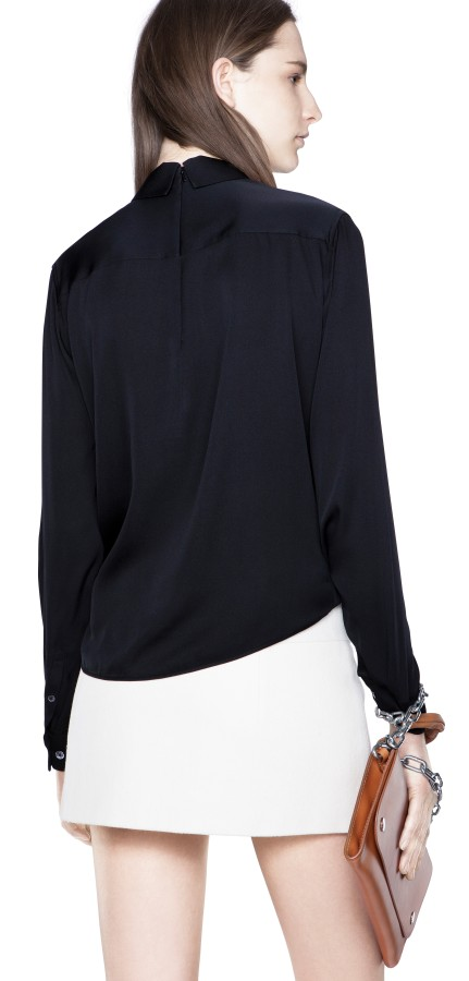 Sloan Silk Zip Black Shop Ready to Wear, Accessories, Shoes and Denim for Men and Women