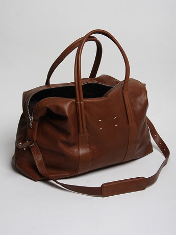 Maison Martin Margiela 11 Leather Holdall at セレクトショップ oki-ni