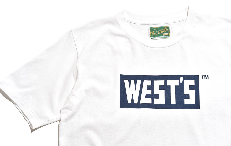 West T Shirts-Navy