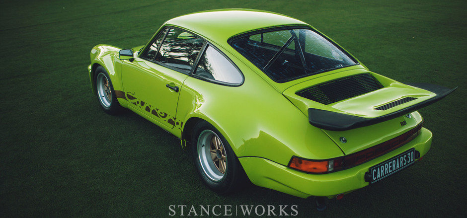 Admiring an Icon - The 1974 Porsche 3.0 RS - Stance Works