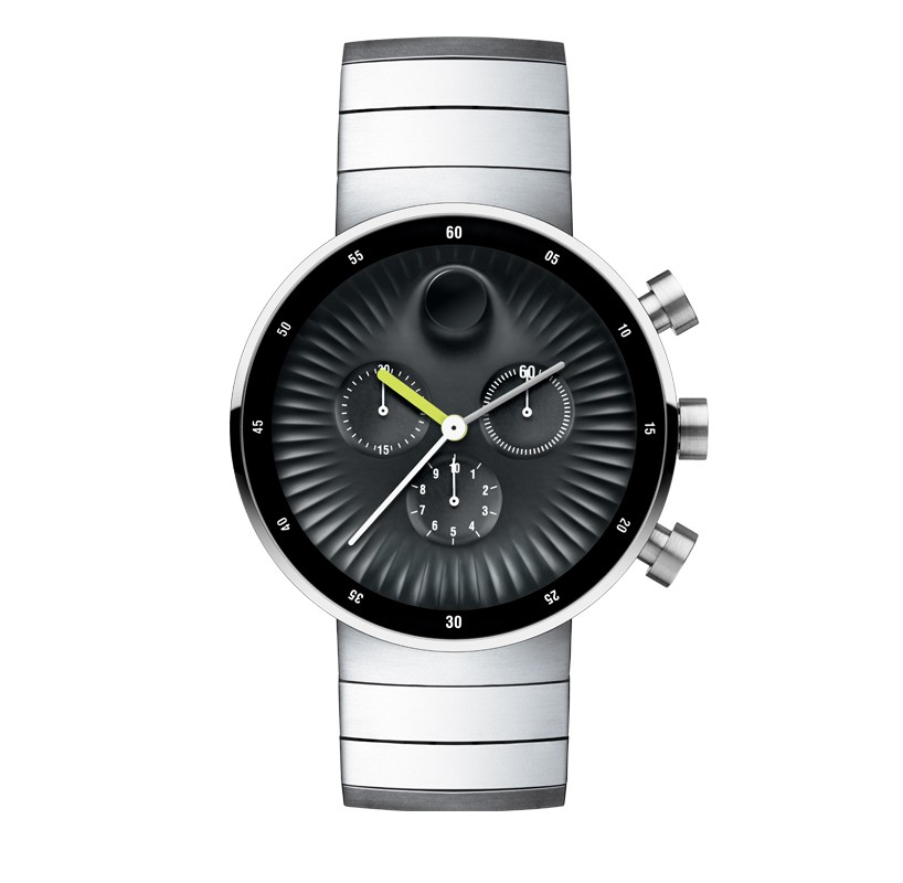 swiss watchmakers movado collaborates with yves béhar for edge collection