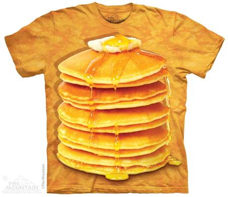 THE MOUNTAIN BIG STACK PANCAKES T-SHIRT - THE FAM TOKYO