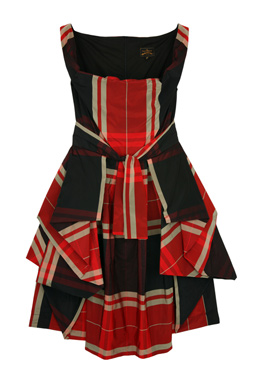 Vivienne Westwood Anglomania Multi Bale Sunday Dress