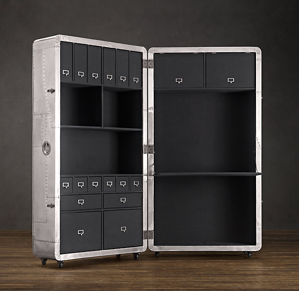 Blackhawk Secretary Trunk | Blackhawk | Restoration Hardware