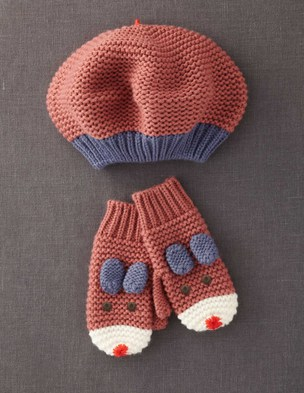 Fun Hat & Mittens Set 38163 Accessories at Boden