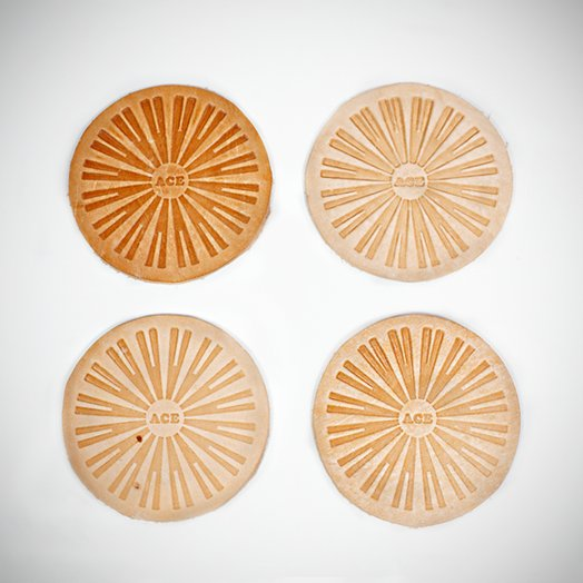 Ace Leather Coaster - 5 Pack : Other Stuff : Ace Hotel Online Shop