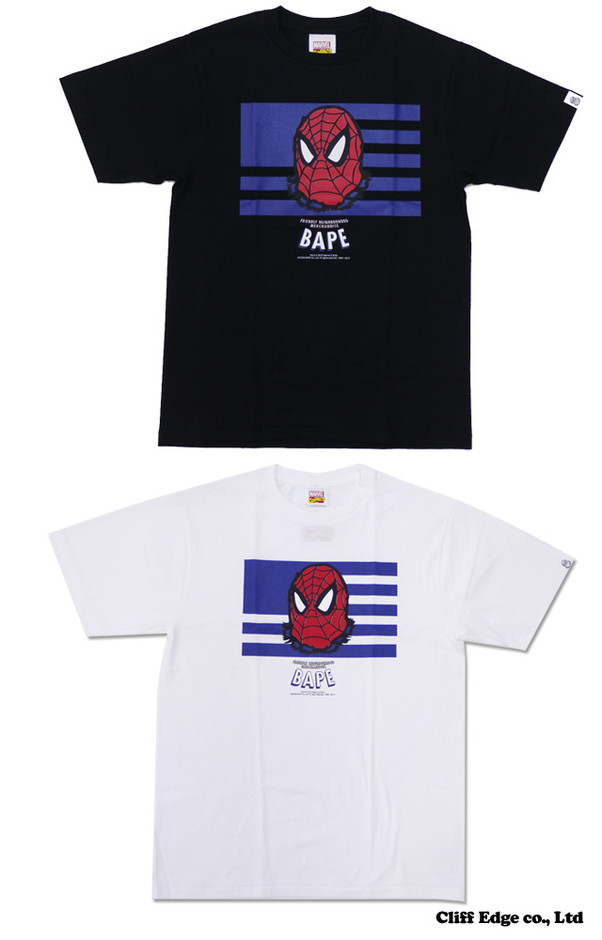 【楽天市場】A BATHING APE x MARVEL COMICS BAPE SPIDER-MAN Tシャツ #1 200-004836-031[1973-110-972]-【新品】【smtb-TD】【yokohama】:Cliff Edge