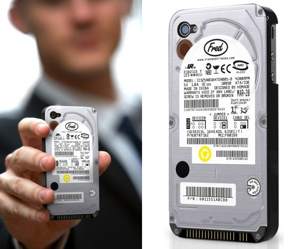 Case Turns Your iPhone into a Hard Drive : ちょっと変わった iPhone 5 用ケース - NAVER まとめ